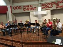 Zumbro Brass Rehearsal